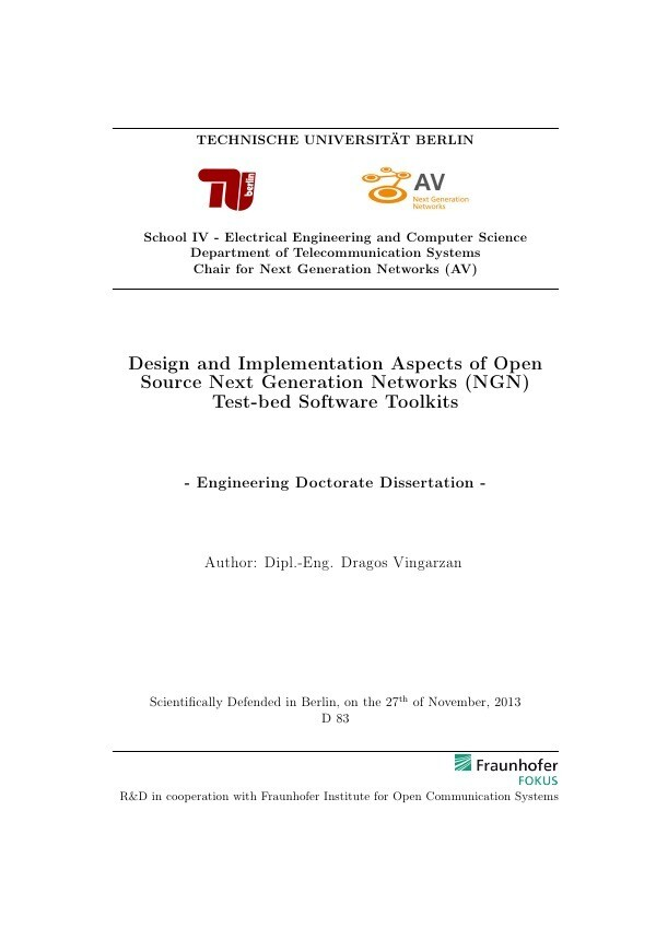 Design and Implementation Aspects of Open Sourc...