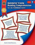 Nonfiction Reading Comprehension for the Common Core Grd 7