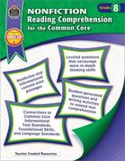 Nonfiction Reading Comprehension for the Common Core Grd 8