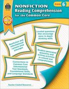 Nonfiction Reading Comprehension for the Common Core Grd 6
