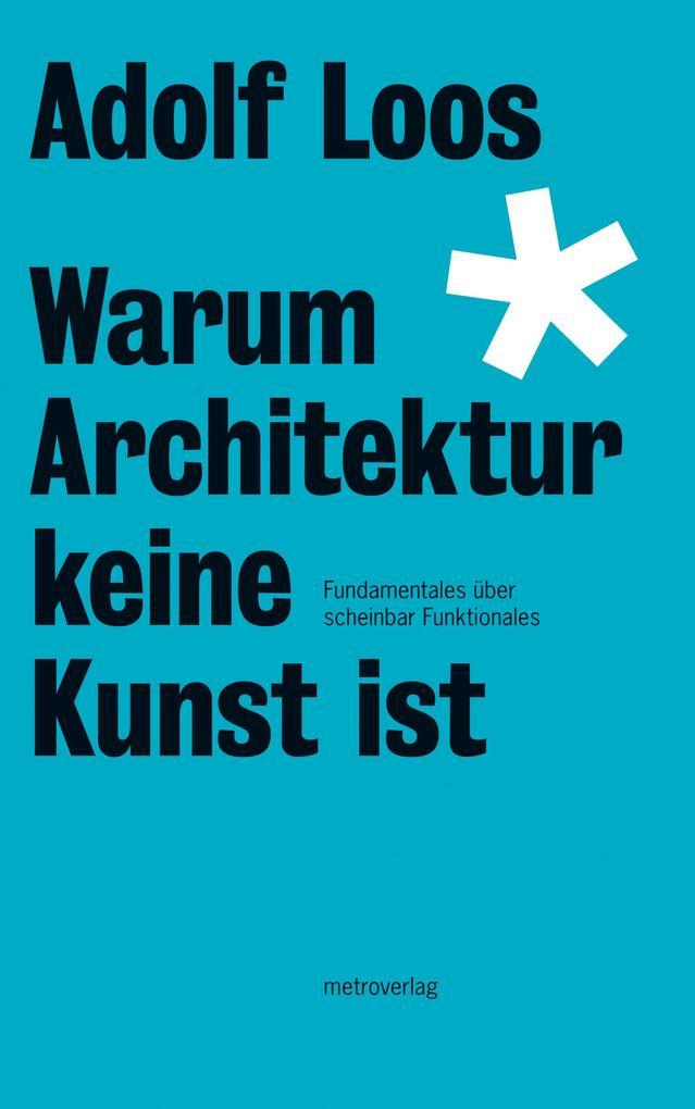 Warum Architektur keine Kunst ist als eBook Dow...