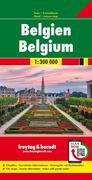 Belgien 1 : 300 000. Autokarte
