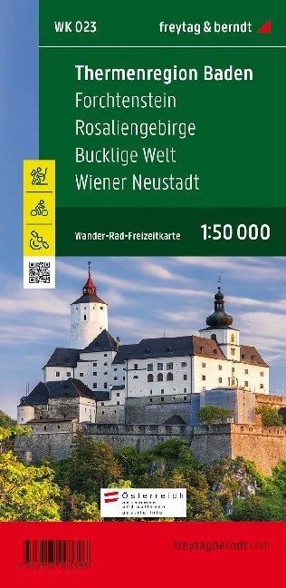 Thermenregion Baden - Forchtenstein - Rosaliengebirge - Bucklige Welt - Wiener Neustadt als Blätter und Karten