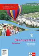 Découvertes Série bleue 3. Cahier d'activités mit MP3-CD, Video-DVD und Übungssoftware. Klasse 7
