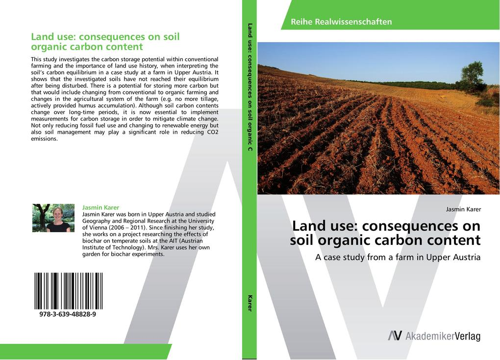 Land use: consequences on soil organic carbon c...