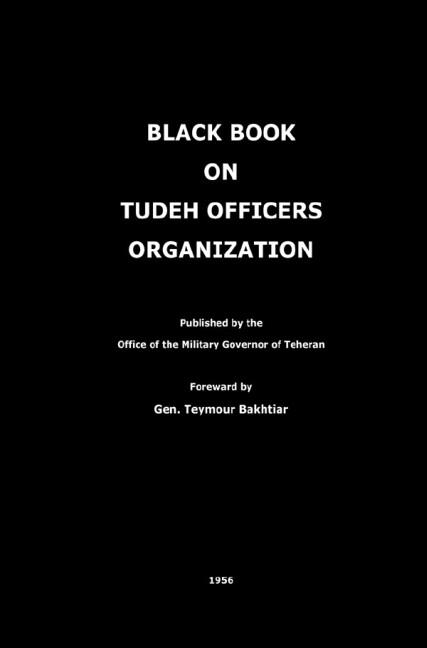 Black Book on Tudeh Officers Organization als Buch