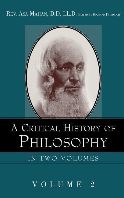 A Critical History of Philosophy Volume 2 als Buch (gebunden)