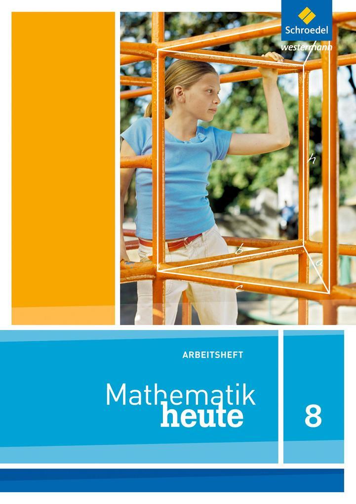 Mathe heute 8. Arbeitsheft. Nordrhein-Westfalen als Buch (geheftet)