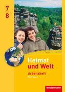 Heimat und Welt 7 / 8. Arbeitsheft. Thüringen