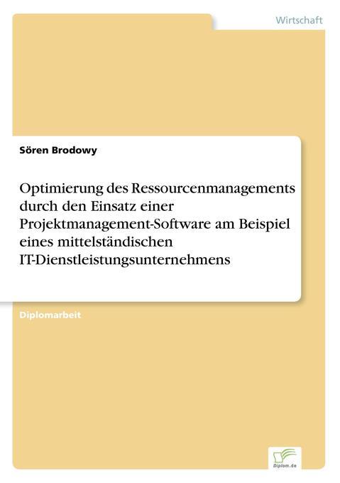 Optimierung des Ressourcenmanagements durch den...