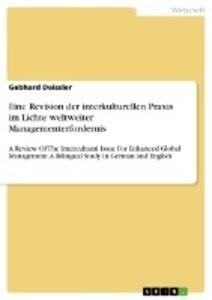 Eine Revision der interkulturellen Praxis im Li...