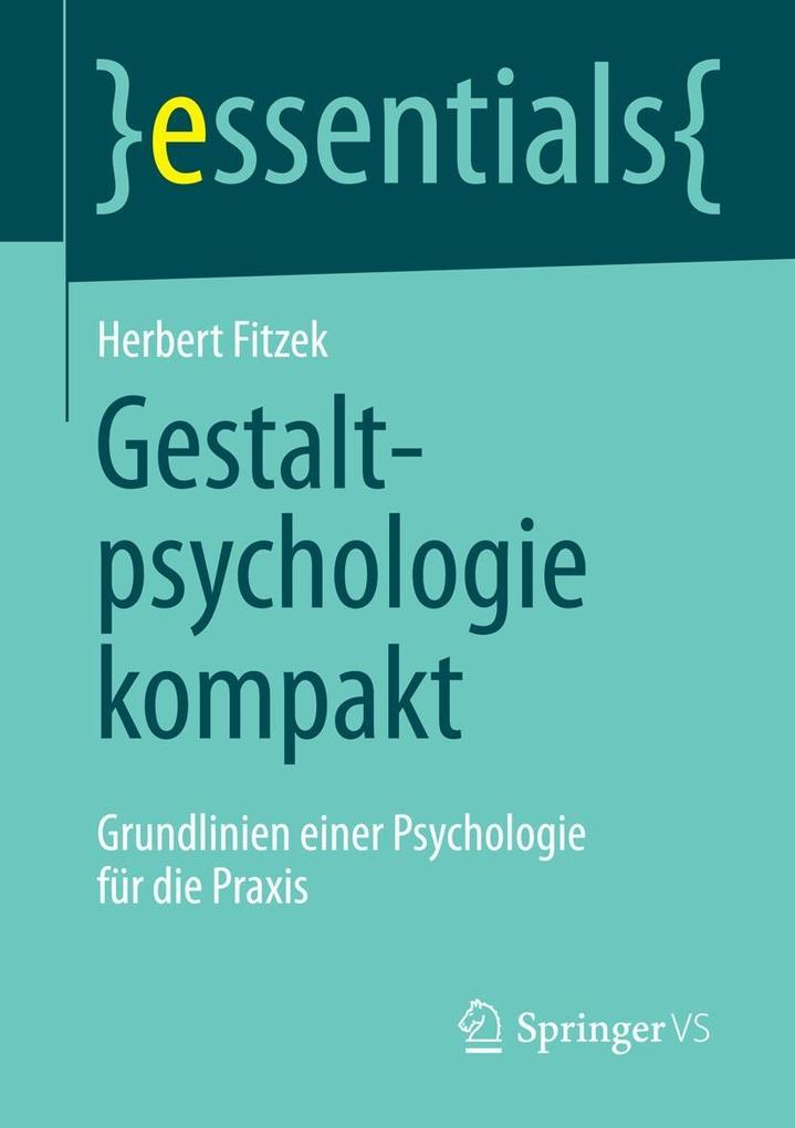 Gestaltpsychologie kompakt als eBook Download v...