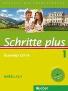 Schritte plus 01. Kursbuch + Arbeitsbuch + Österreich EXTRA mit Audio-CD