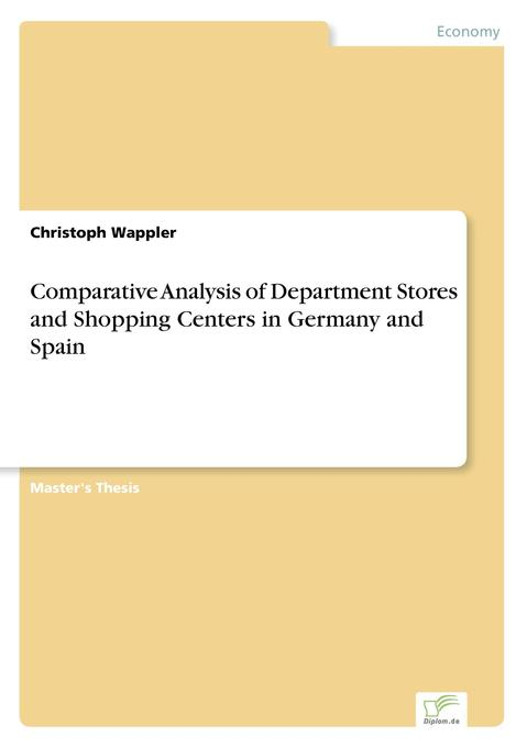 Comparative Analysis of Department Stores and S...