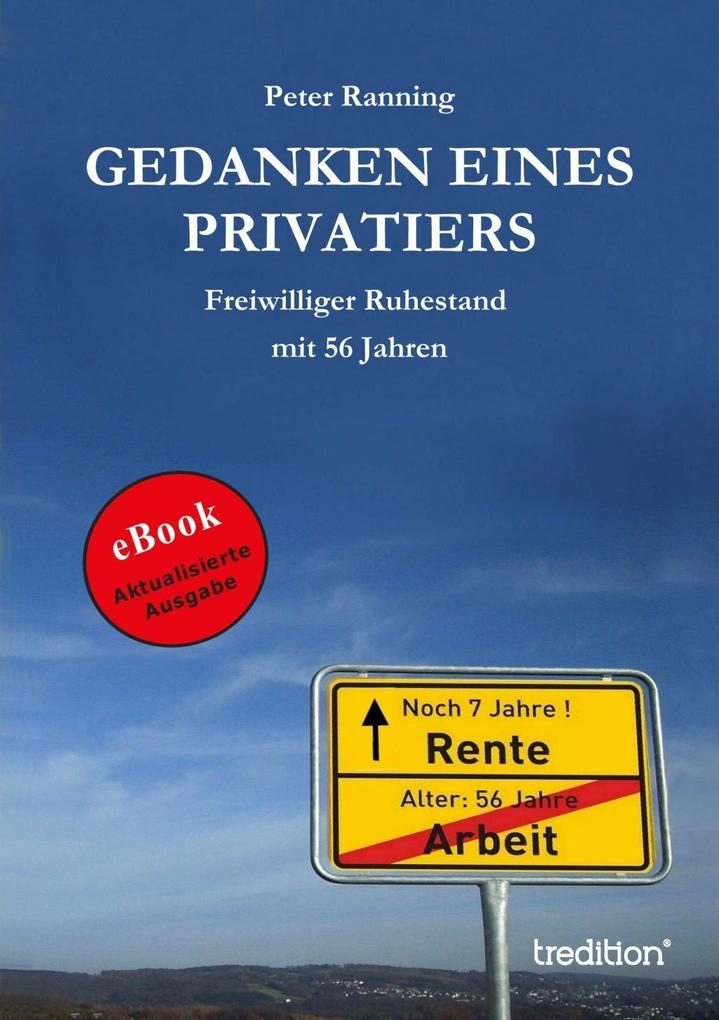 Gedanken eines Privatiers als eBook Download vo...