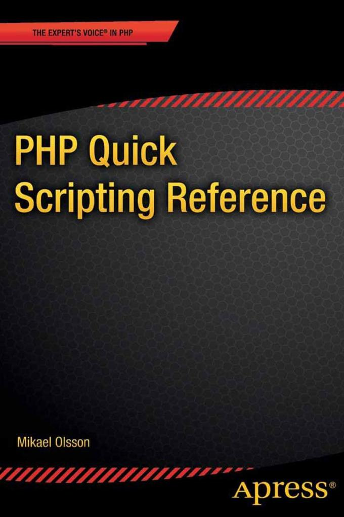 PHP Quick Scripting Reference als eBook Downloa...