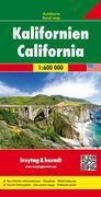 Kalifornien, Autokarte 1:600.000