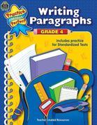 Writing Paragraphs Grade 4