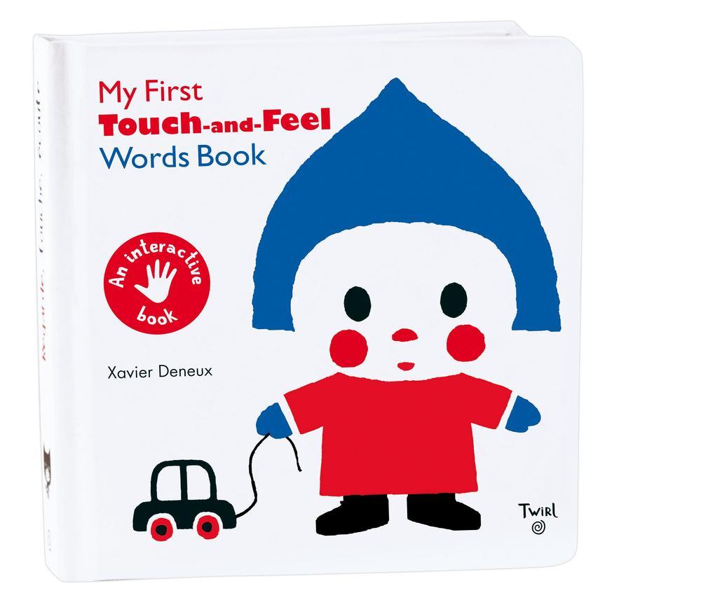 My First Touch and Feel Words Book als Buch (kartoniert)