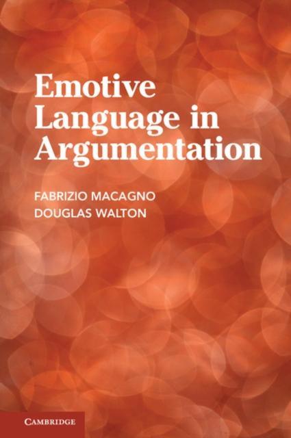 Emotive Language in Argumentation als eBook pdf