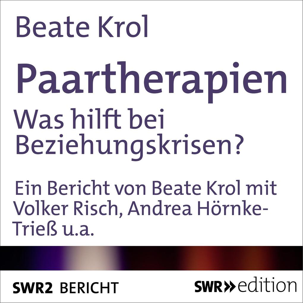 Paartherapien als Hörbuch Download