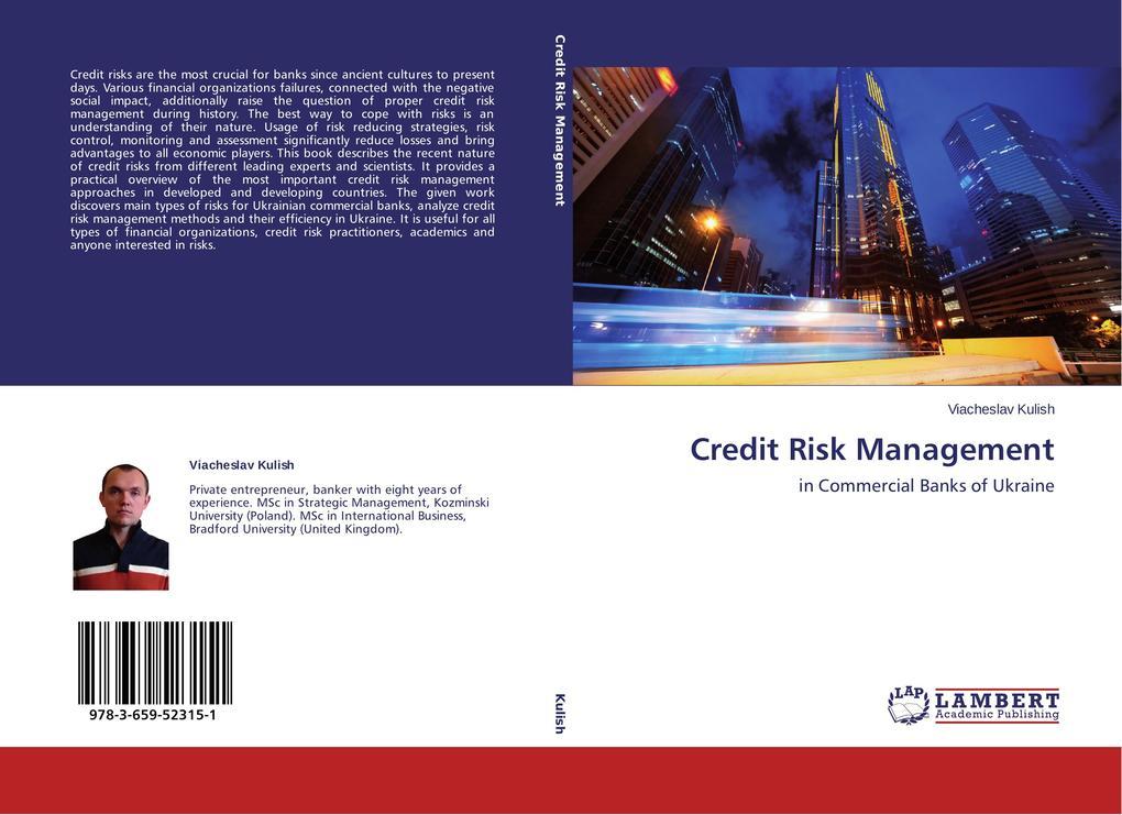 Credit Risk Management als Buch (gebunden)