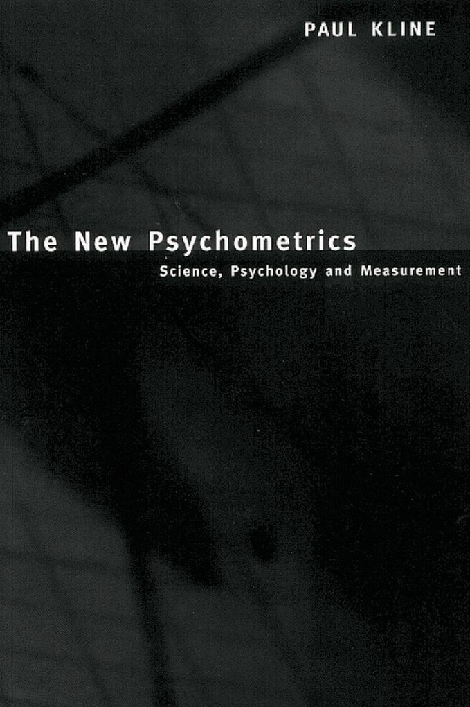 The New Psychometrics als eBook epub