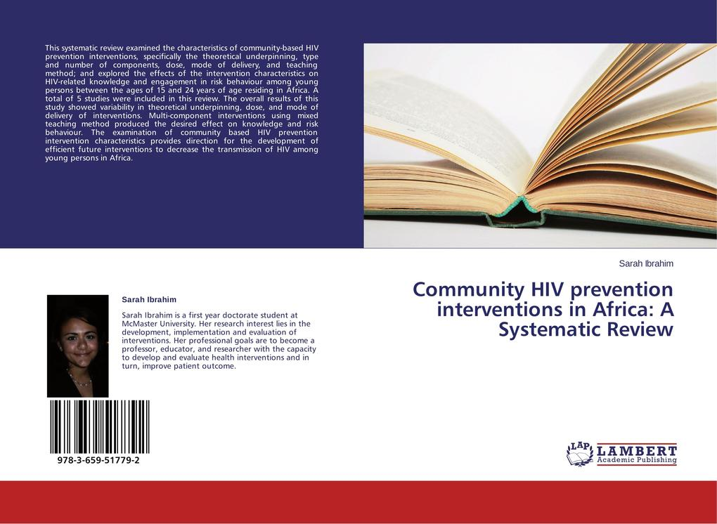 Community HIV prevention interventions in Afric...