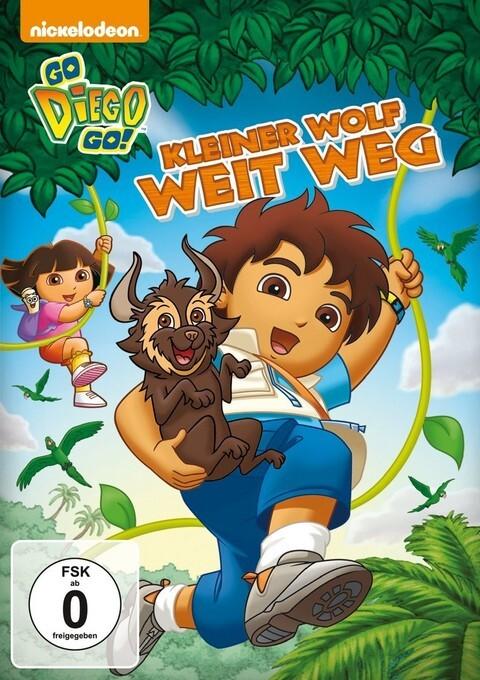 Go Diego Go! - Kleiner Wolf weit weg als DVD