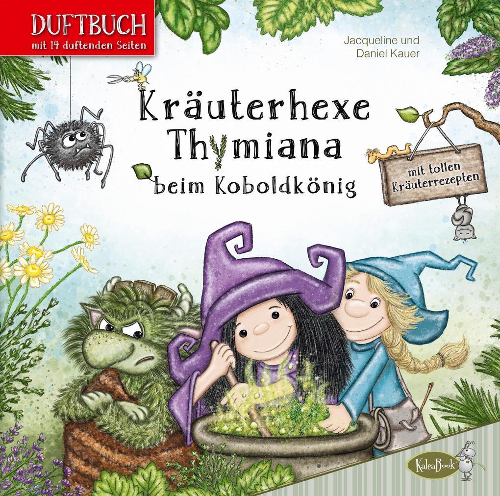 Kräuterhexe Thymiana beim Koboldkönig als Buch