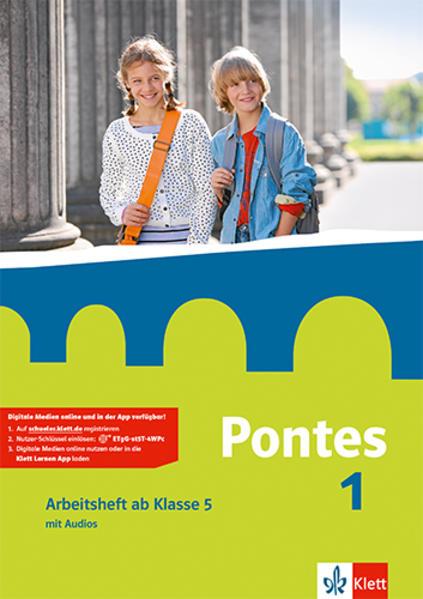 Pontes 1. Arbeitsheft mit Audio-CD für den Beginn in Klasse 5 als Buch (gebunden)