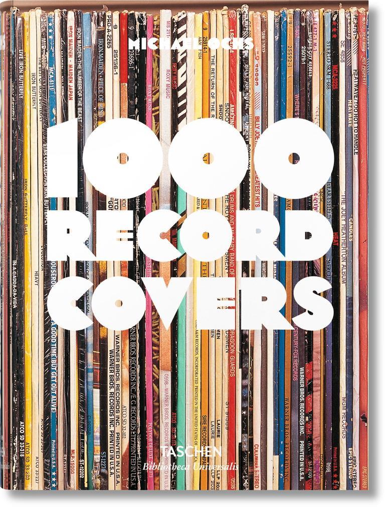 1000 Record Covers als Buch (gebunden)