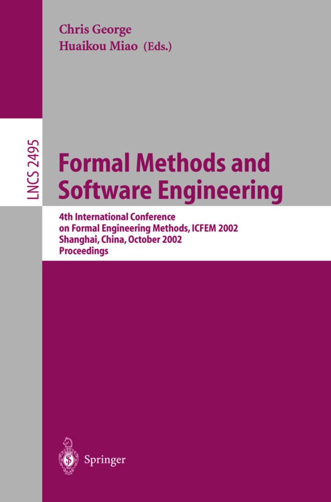 Formal Methods and Software Engineering als Buch (kartoniert)