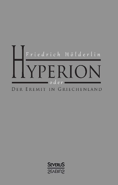 Hyperion als Buch (gebunden)