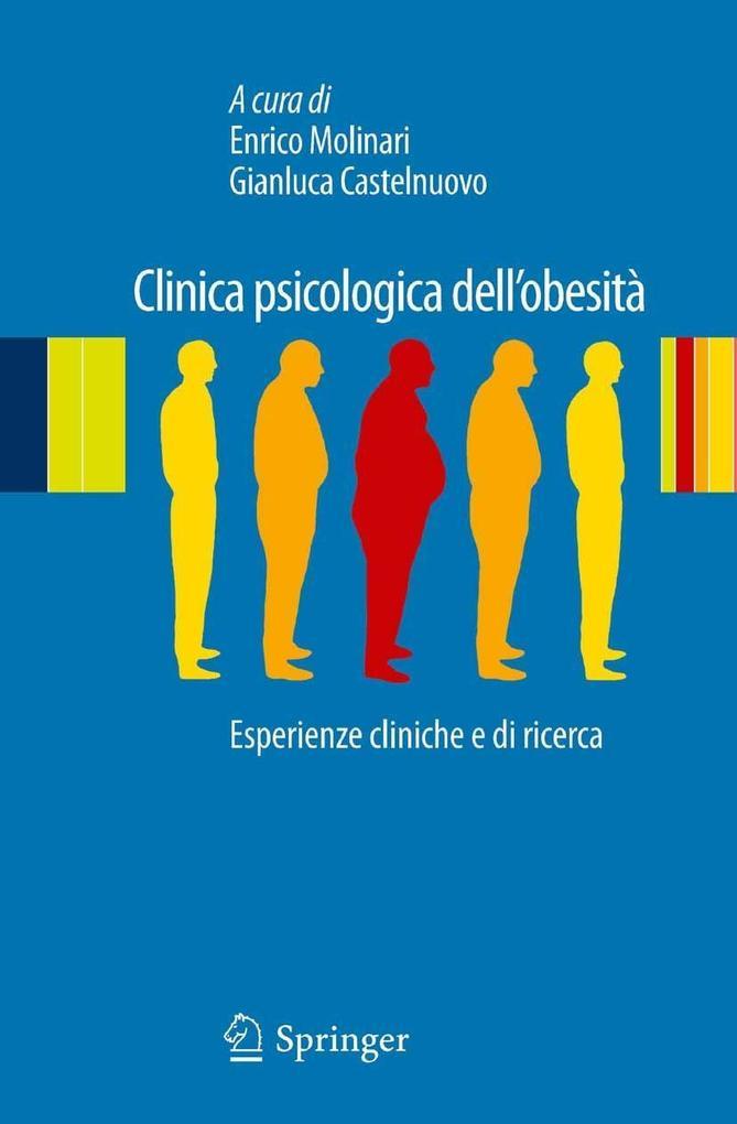 Clinica psicologica dell'obesità als eBook pdf