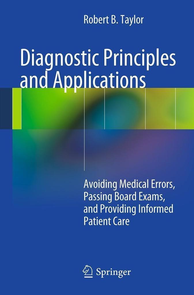 Diagnostic Principles and Applications als eBook pdf