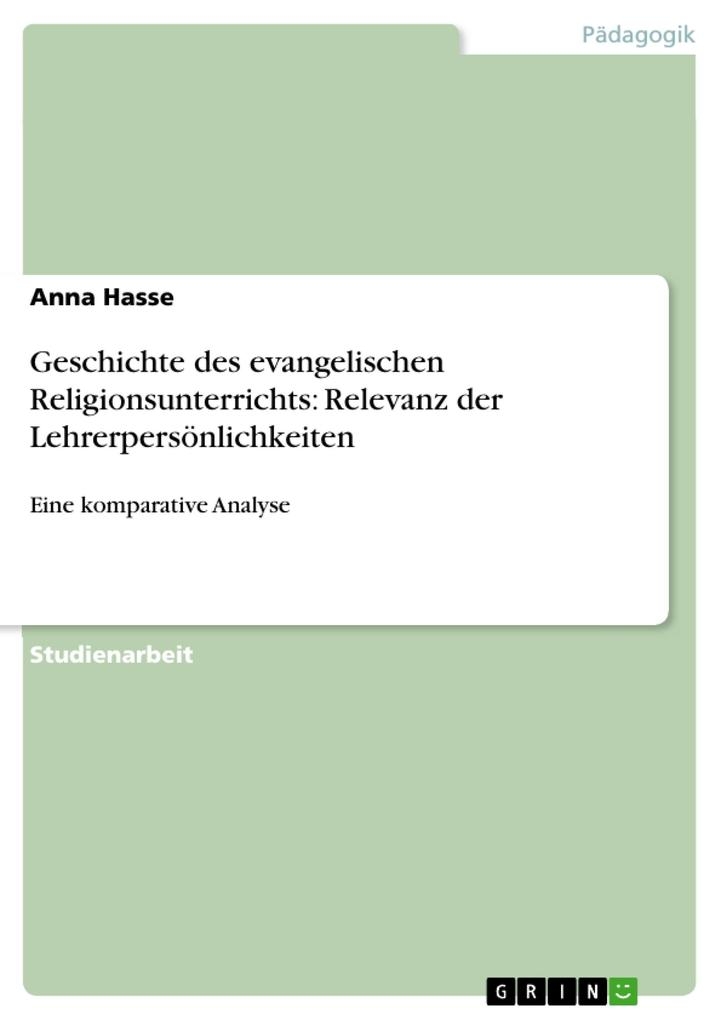 Geschichte des evangelischen Religionsunterrich...
