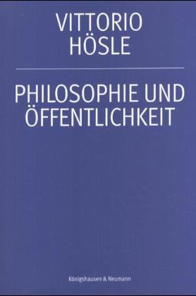 Philosophie und Öffentlichkeit als Buch
