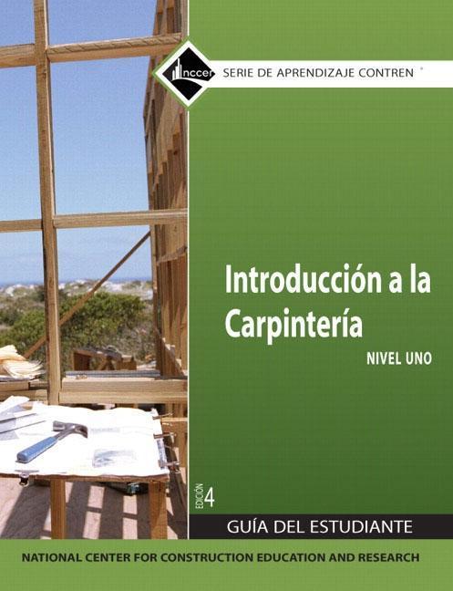 Carpentry Fundamentals Level 1 Trainee Guide in Spanish als Taschenbuch