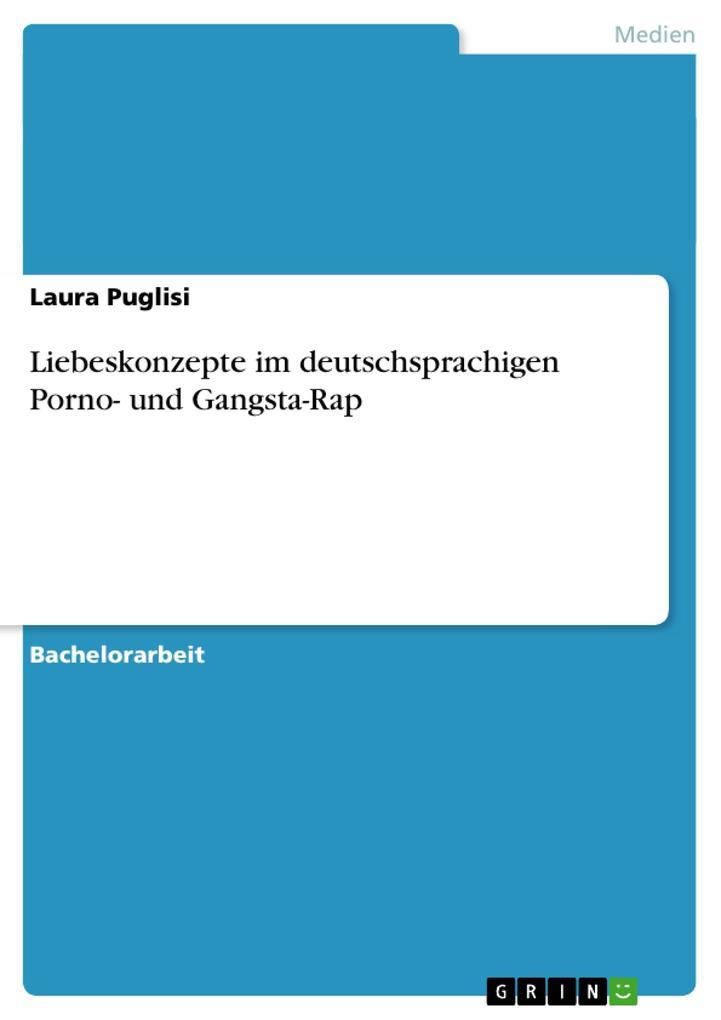 Liebeskonzepte im deutschsprachigen Porno- und Gangsta-Rap als Buch (gebunden)