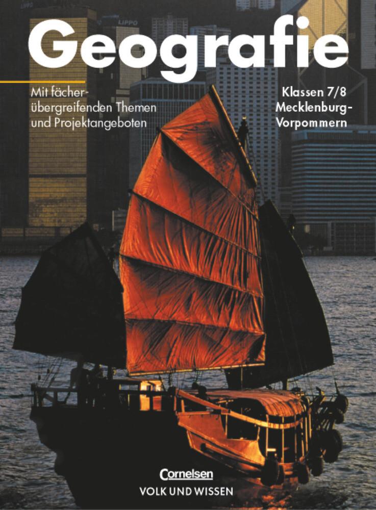 Geografie 7./8. Schuljahr Schülerbuch Mecklenburg-Vorpommern als Buch