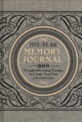 Five-Year Memory Journal als Buch (gebunden)