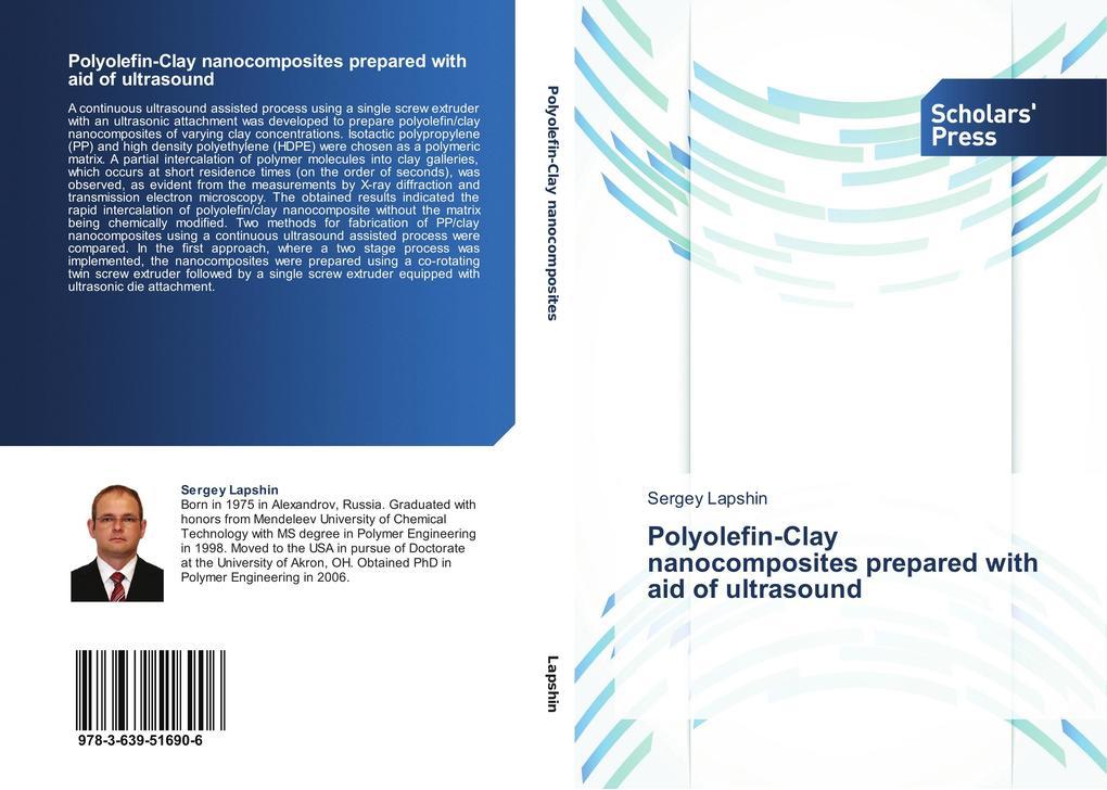 Polyolefin-Clay nanocomposites prepared with aid of ultrasound als Buch (gebunden)