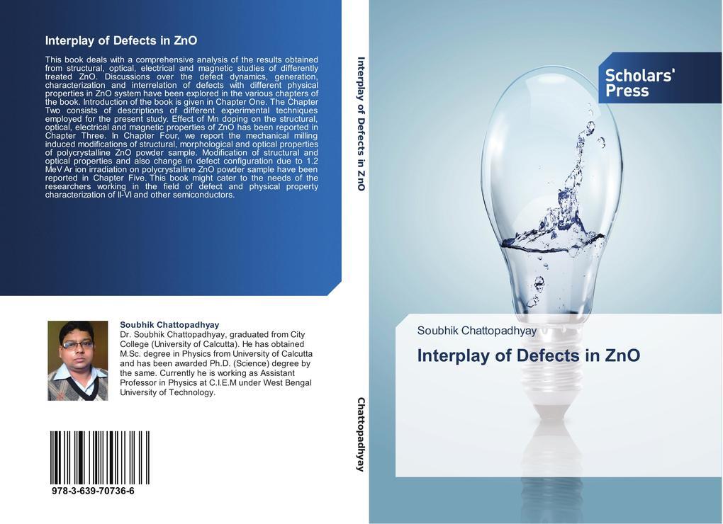 Interplay of Defects in ZnO als Buch (gebunden)