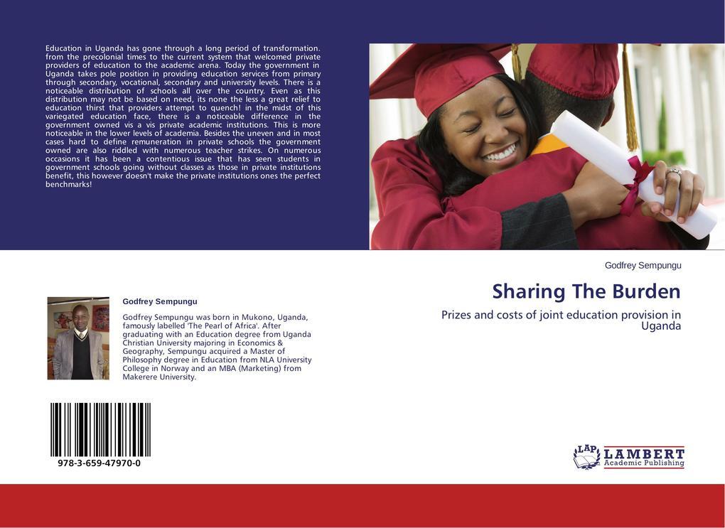 Sharing The Burden als Buch von Godfrey Sempungu