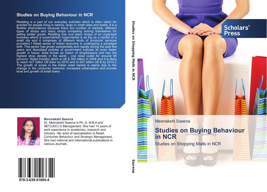 Studies on Buying Behaviour in NCR als Buch von...