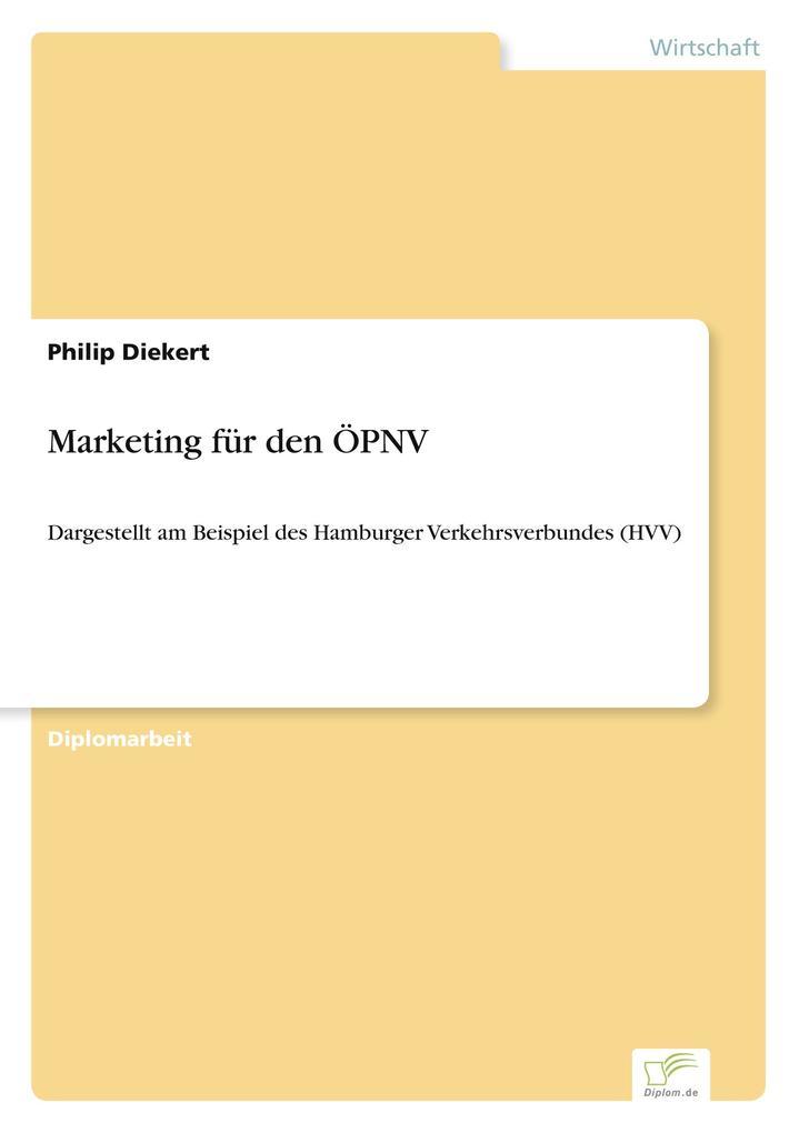 Marketing für den ÖPNV als Buch (gebunden)