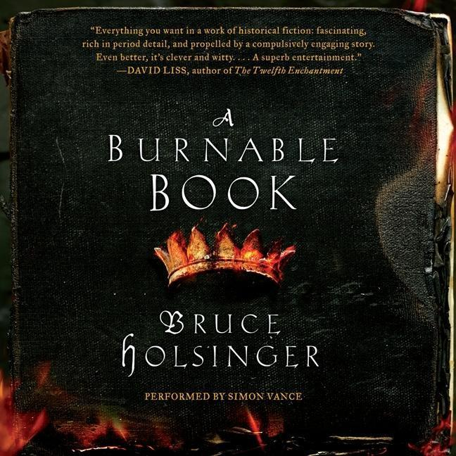 A Burnable Book als Hörbuch CD