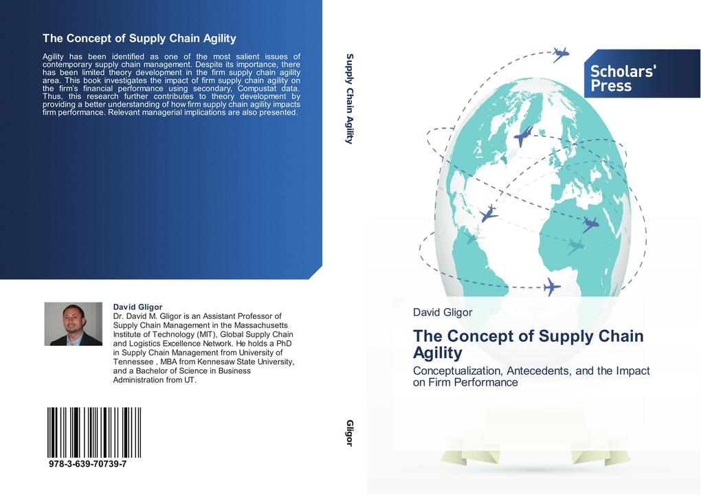 The Concept of Supply Chain Agility als Buch vo...