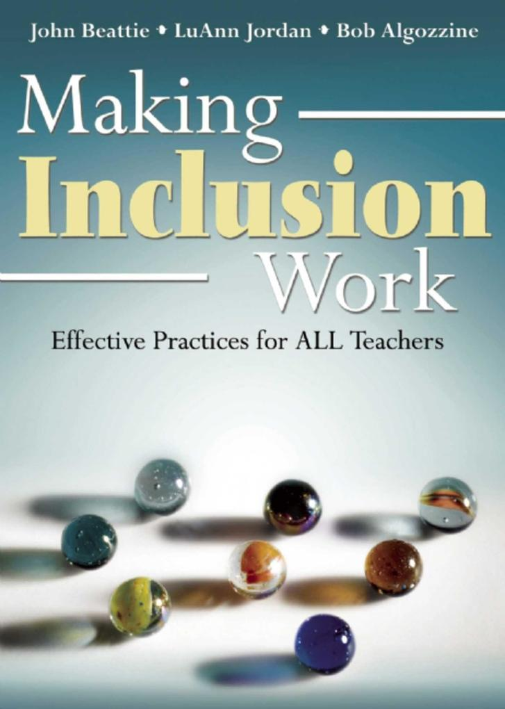 Making Inclusion Work: Effective Practices for All Teachers als Taschenbuch